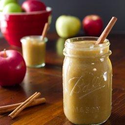 Easy Slow Cooker Naked Apple Butter
