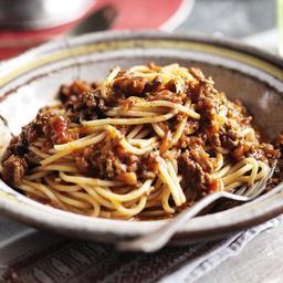 Easy spaghetti Bolognese