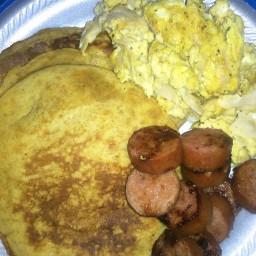 Easy Sweet Potato Pancakes