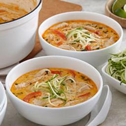 Easy Thai Coconut Chicken Soup