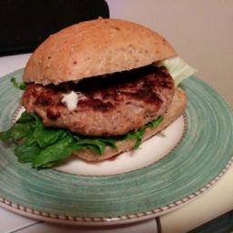 Easy turkey burger