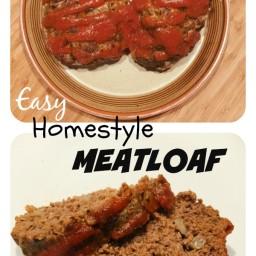 Easy Paleo Homestyle Meatloaf