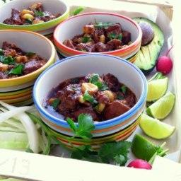Easy Pressure Cooker Pozole - Pork & Hominy Stew