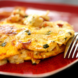 Egg White and Turkey Sausage Omelet