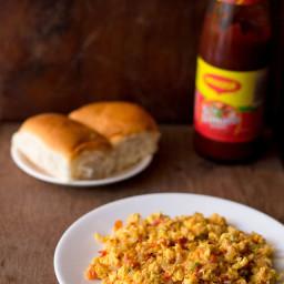 Egg Akuri or Egg Bhurji Recipe