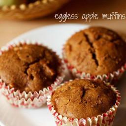eggless apple muffins recipe