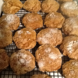 Eggless Pumpkin Spice Cookies