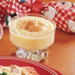 Eggnog Pudding Recipe