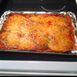 Eggplant and Spinach Lasagna