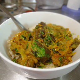 Eggplant Curry - Indian Style!