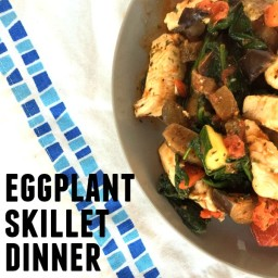 Eggplant Skillet Dinner