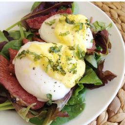 Eggs Benedict Starch Free