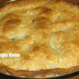 Eileen's Leftover Chicken or Turkey Pot Pie