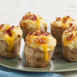Elegant Twice Baked Potatoes