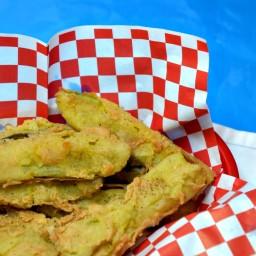 Elvis' Fried Pickles-Recipe