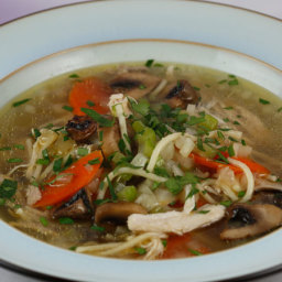 Emeril Lagasse's Simple Chicken Noodle Soup