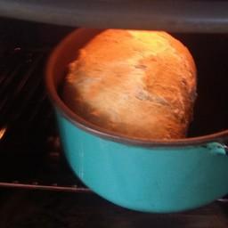 Erik's bread, crispy and tasty