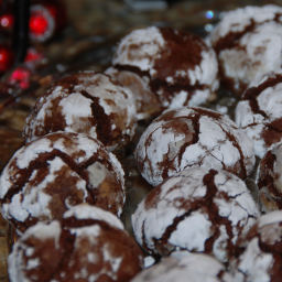 Espresso Crinkles (originally a Cooking Light Holiday recipe)