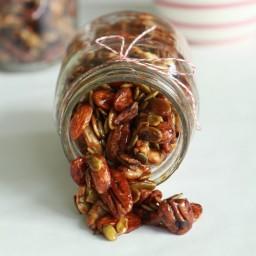 Espresso Glazed Nuts