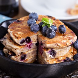 Everyday Blueberry Pancakes