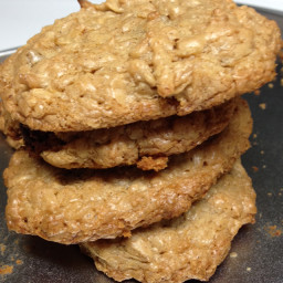 Everything Peanut Butter Oatmeal Cookies