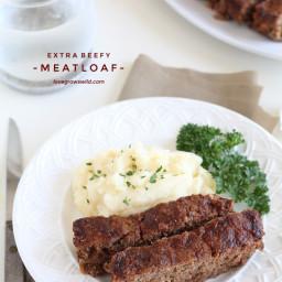 Extra Beefy Meatloaf