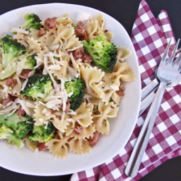Farfalle with Italian Sausage and Broccoli