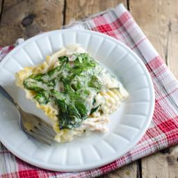 Fast Rotisserie Chicken Lasagna