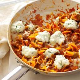 Favorite Skillet Lasagna Recipe