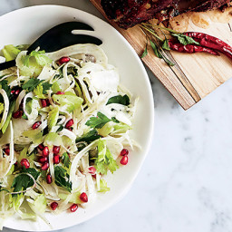 Fennel, Celery, and Pomegranate Salad