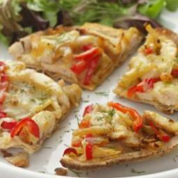 Fennel  and  Chicken Flatbread