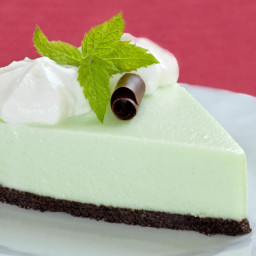 Festive Frozen Mint Pie