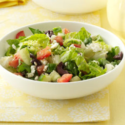 Feta Romaine Salad Recipe