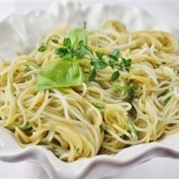 Fettuccine with Garlic Herb Butter
