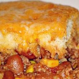 Fiesta Biscuit Casserole