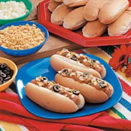Fiesta Chili Dogs Recipe