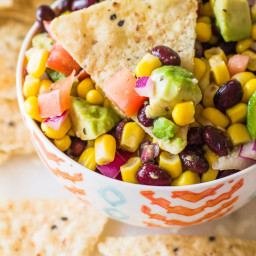 Fiesta Corn & Avocado Salsa