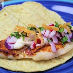 Fish tacos, Mixteca-style (Tacos de Pescado a la Mixteca)