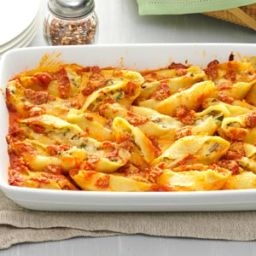 Five-Cheese Jumbo Shells Recipe