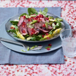 Five spice crispy duck salad