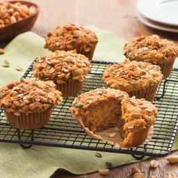 Five-Spice Peanut and Pumpkin Muffins
