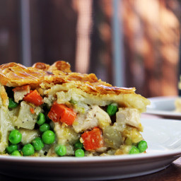 Flaky Classic Chicken Pot Pie