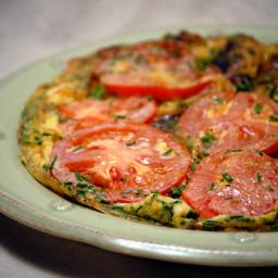 No Meat Flat Potato Omelet