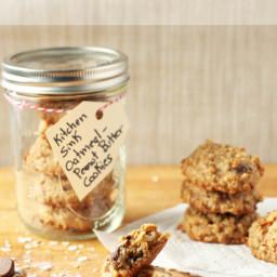 Flourless Gluten-Free Peanut Butter Oatmeal Cookies
