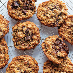 Flourless Oatmeal Chocolate-Chunk Cookies