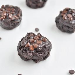 Flourless Chocolate Brownie Bites