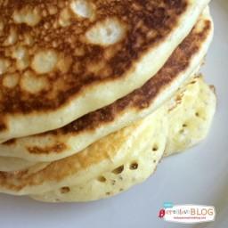 Fluffy Cake Flour Pancakes