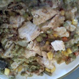 Foil-Pack Creamy Chicken & Mushroom Dinner