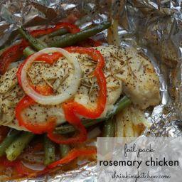 Foil Pack Rosemary Chicken