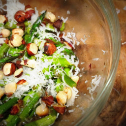 Food Babe's Asparagus Hazelnut Salad